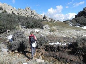 Llegada a la Gran Cañada