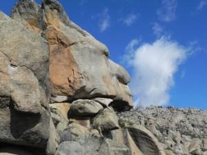 Roca curiosa