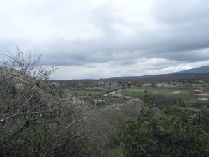 Vistas hacia la Muela
