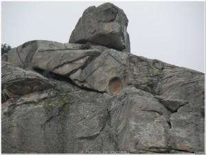 Hueco en la roca