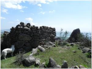 Chozo en ruinas