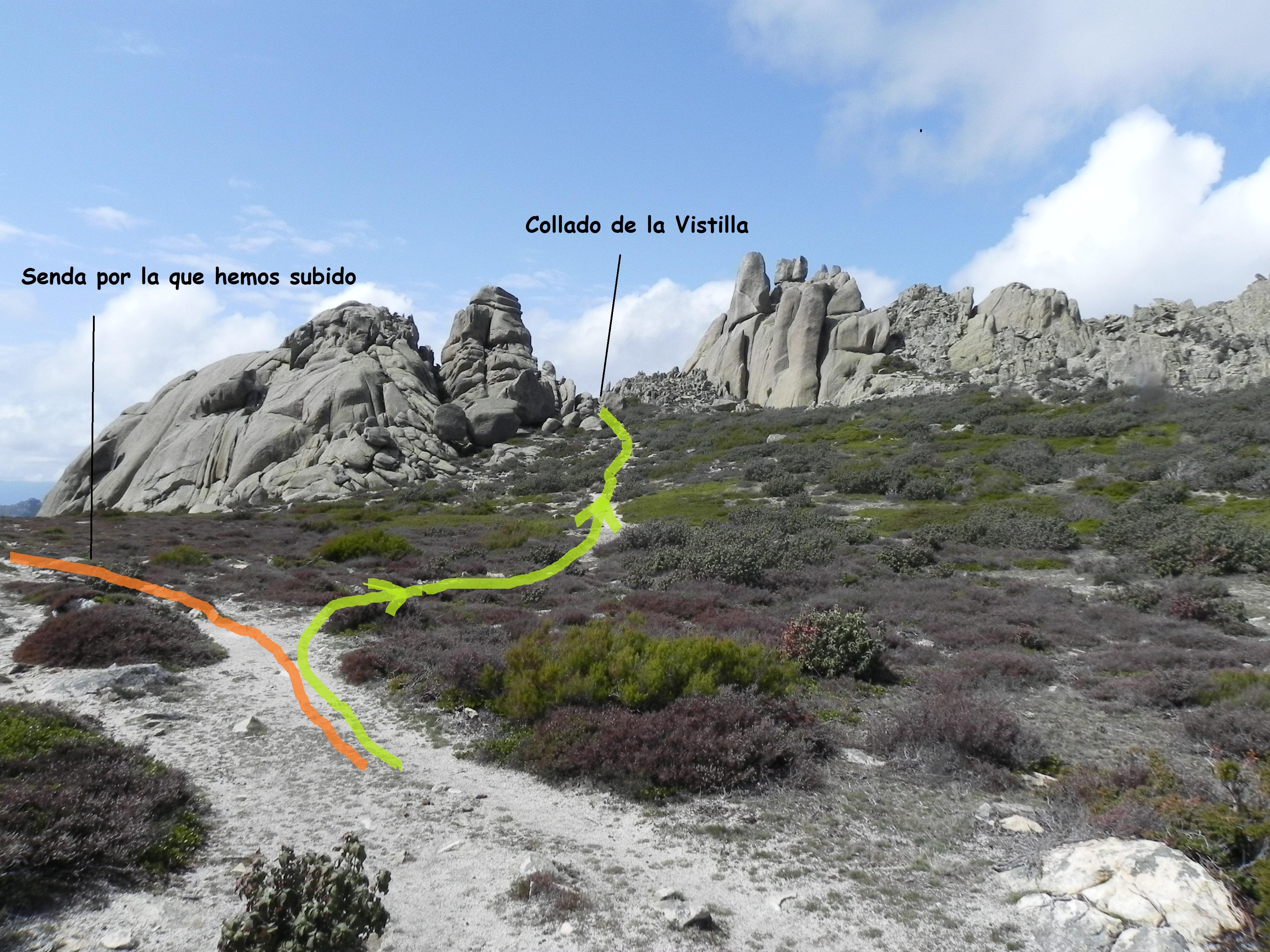 Ruta en la Pedriza a la cumbre del Yelmo por el Corredor ...
