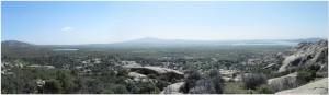Vistas hacia el Cerro de San Pedro