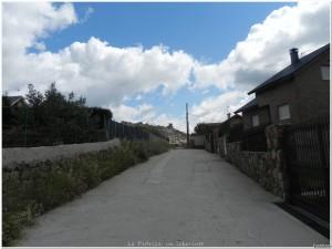 Entrada a la zona del Rodaje