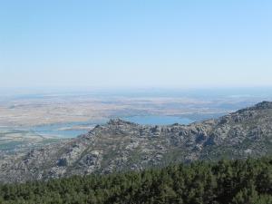 Vista desde la senda de la Herrada