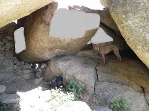 Interior cueva de la Paz