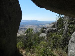 Vistas desde la cueva de la Paz