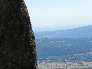 Vistas desde la cueva de los maquis (La Paz)
