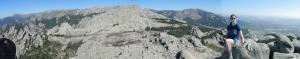 Vistas desde lo alto de la Pared de Santillana