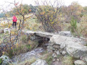 Cruzamos el arroyo de los Eriales