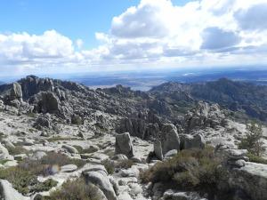 Vistas del Embalse de Santillana