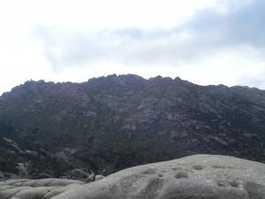 Vistas hacia el Yelmo