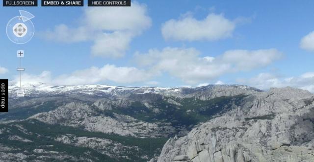 Tour virtual 360º de La Pedriza desde el Yelmo